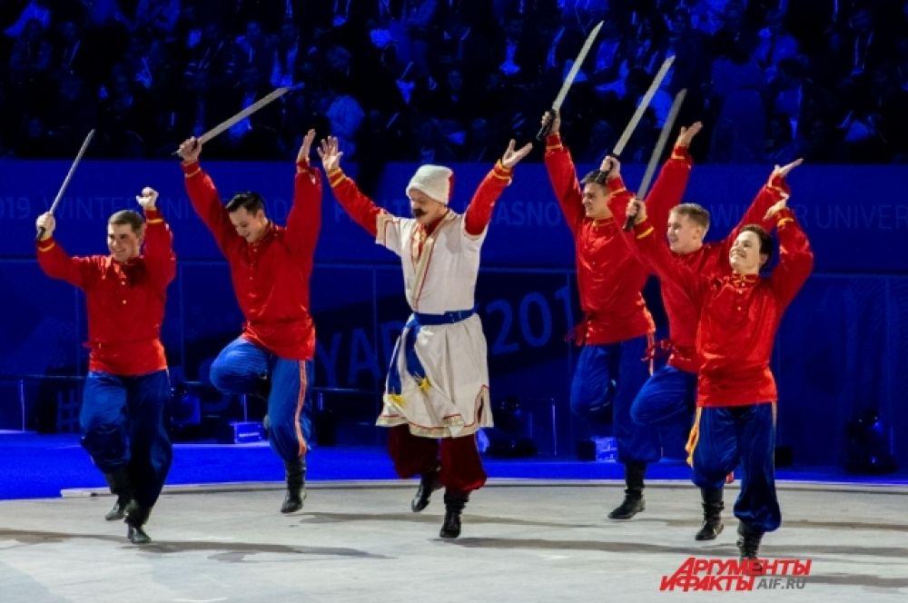 Основной акцент был сделан на многообразии культуры Сибири.