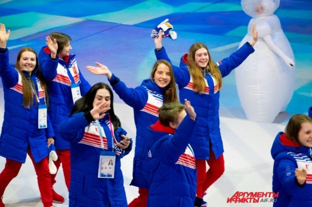 Отдельным элементом церемонии открытия стал Парад атлетов из всех стран-участниц.