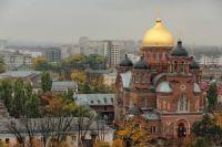Екатерининский собор в центре Краснодара, наши дни.