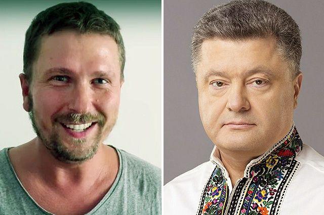 Анатолий Шарий. Петр Порошенко.