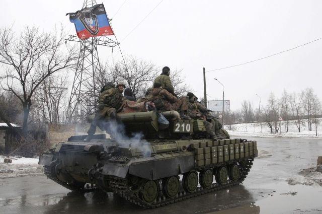 Впервые с начала года против украинской армии применили танки, - штаб ООС