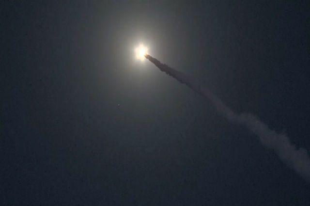 запуск ракеты, архивное фото
