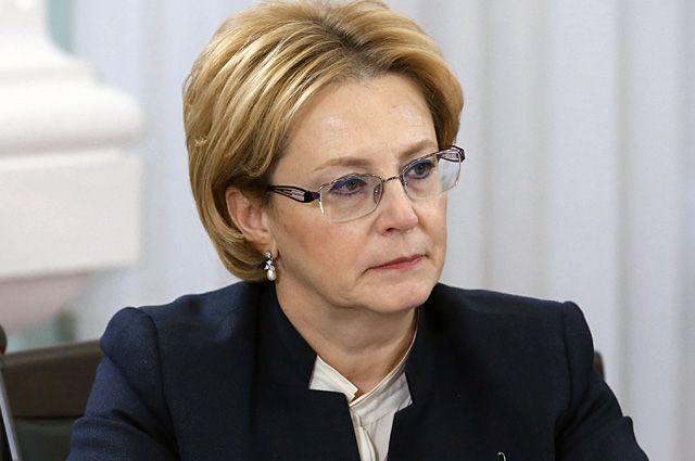 Вероника Скворцова, министр здравоохранения РФ.