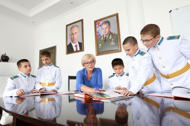 Сегодня в России семь кадетских президентских училищ.