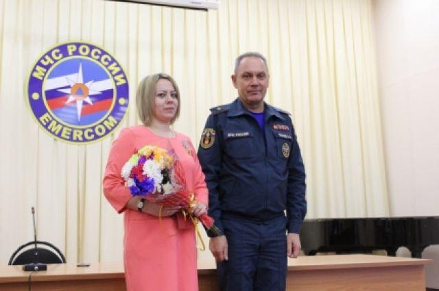 18 июля Юлия Афанасьева спасла жизнь тонувшей в озере девочке.