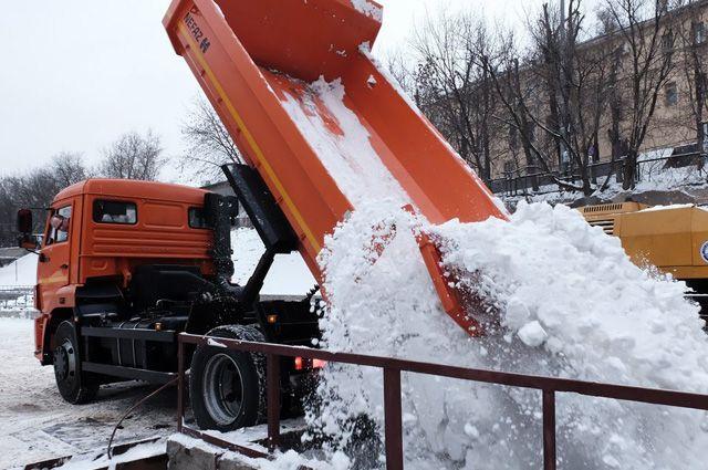 Столичные снегоплавильные пункты работают фактически в режиме нон-стоп.