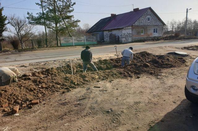 В Зеленоградском городском округе ремонтируют водопроводы