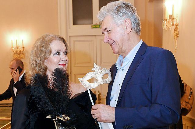 Ирина Алфёрова с супругом Сергеем Мартыновым вместе 26 лет.