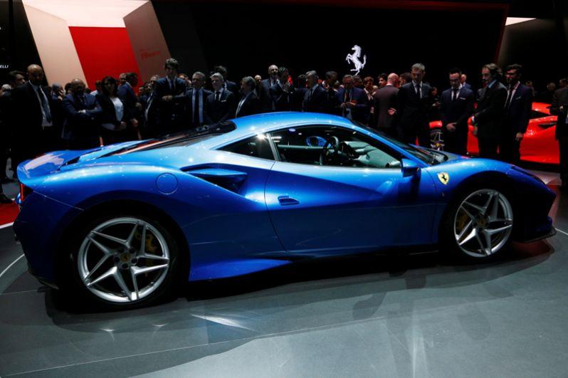 Ferrari F8 Tributo.