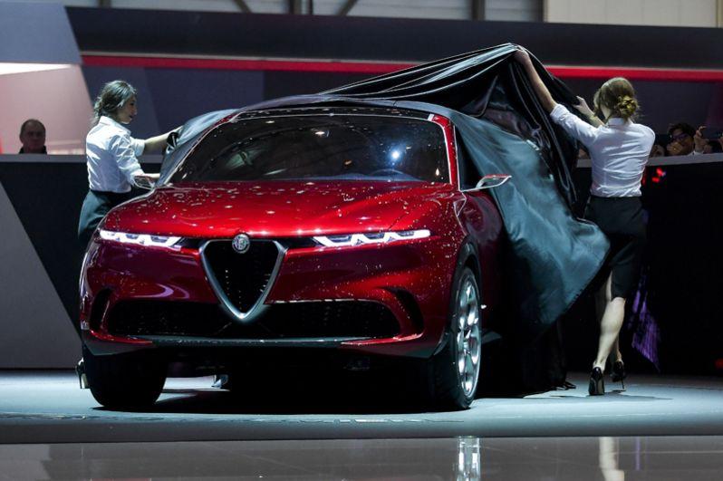 Концепт Alfa Romeo Tonale.