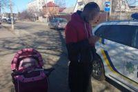 Под Киевом пьяный отец «гулял» с замерзшим двухмесячным ребенком