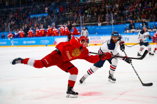 Противостояние на льду двух держав, закончилось победой России.