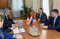 Александр Моор предложил бизнесменам из Австрии оценить потенциал региона
