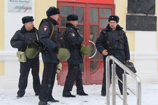 На оренбургском вокзале прошли антитеррористические учения