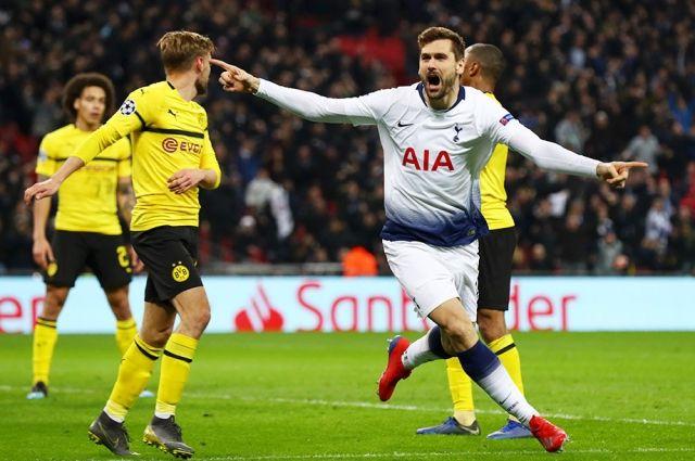 Тоттенхэм попал в четвертьфинал Лиги чемпионов, а Реал вылетел из Лиги чемпионов после разгрома от Аякса.