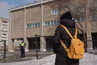 Минирование школы в Бийске