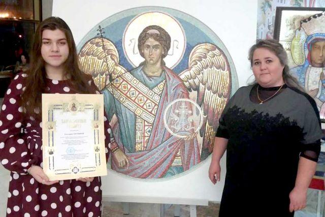 Екатерина Ерохина и её педагог Анжела Добролюбова.