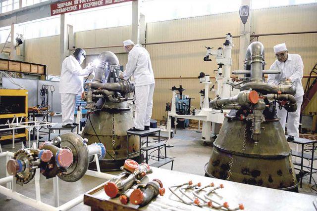 Основная продукция ВМЗ – жидкостные ракетные двигатели.