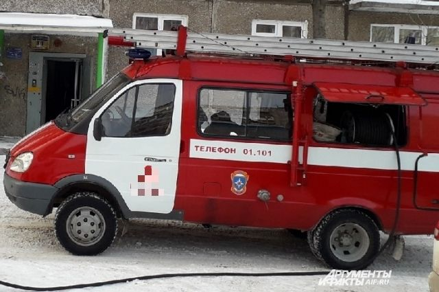 Пожарные быстро справились с возгоранием.