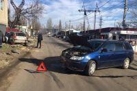 ДТП в Одессе: столкнулись два автомобиля, есть пострадавшие