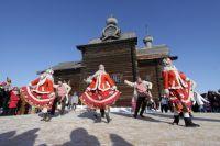 В ходе мероприятия гости смогут принять участие в народных играх.