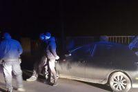 Под Ужгородом преступники похитили человека и везли связанным в багажнике
