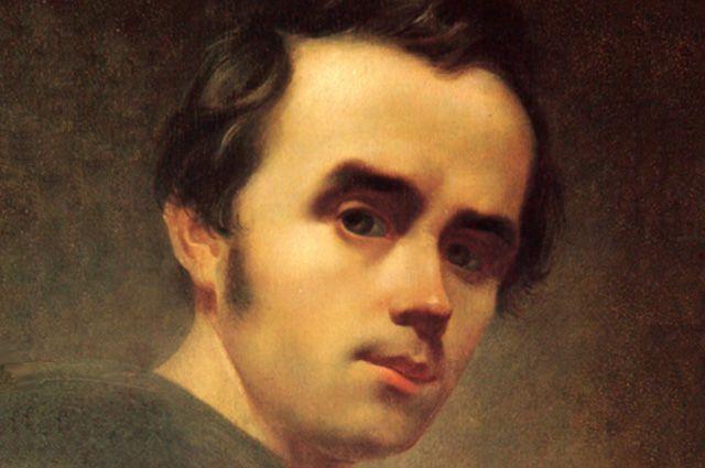 Тарас Шевченко. Первый автопортрет, 1840 год.