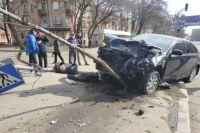 В Николаеве столкнулись два автомобиля: оба водители госпитализированы