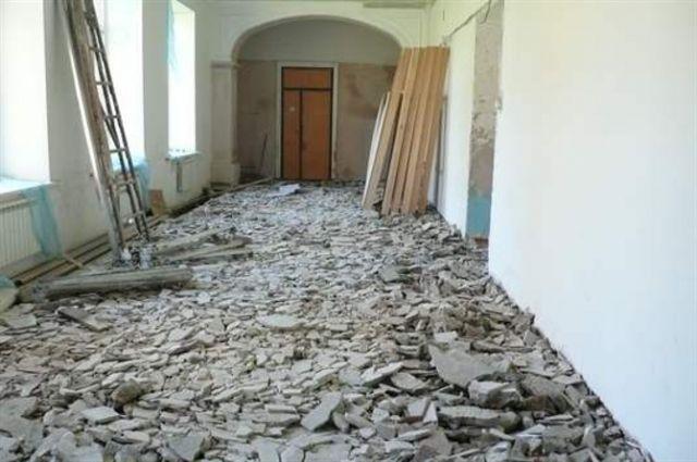 Инструментальное обследование здания показало, что требуется усиление несущих элементов.
