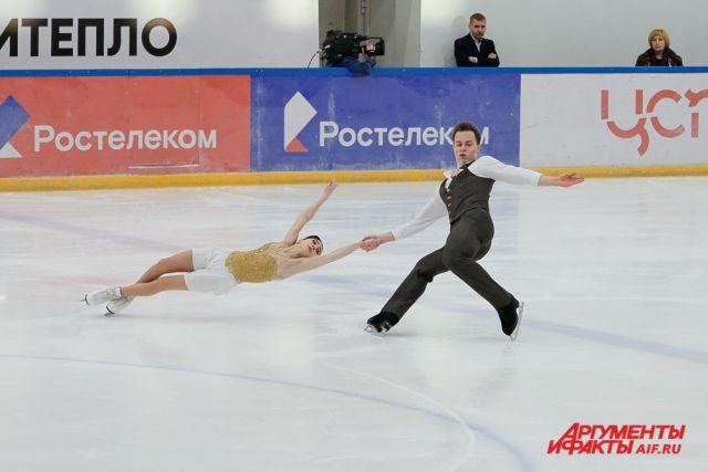 Аполлинария Панфилова и Дмитрий Рылов проводят успешный сезон.