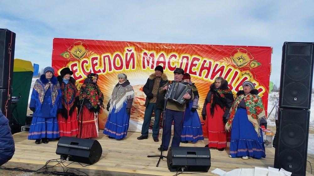 Масленица в Ялуторовском районе