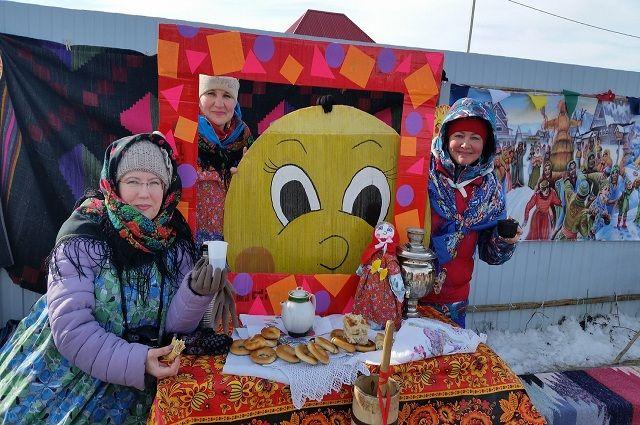 В селе Карабаш Ялуторовского района отметили масленицу