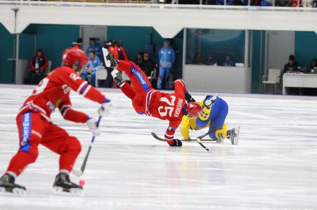 Счет игры 6:1 в пользу российских спортсменов.