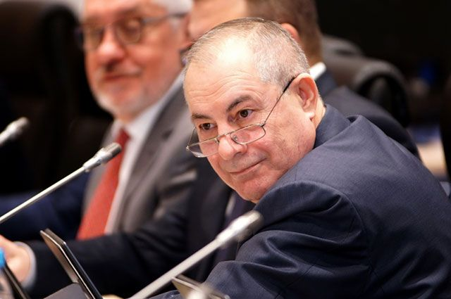 Депутат Гасан Набиев.