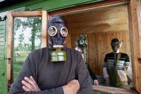 Сильный запах газа распространяется по Комсомольску из-за пожара на НПЗ.