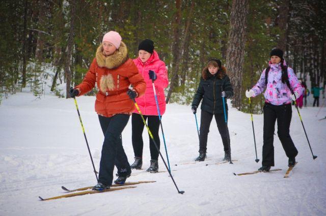 Лыжня здоровья