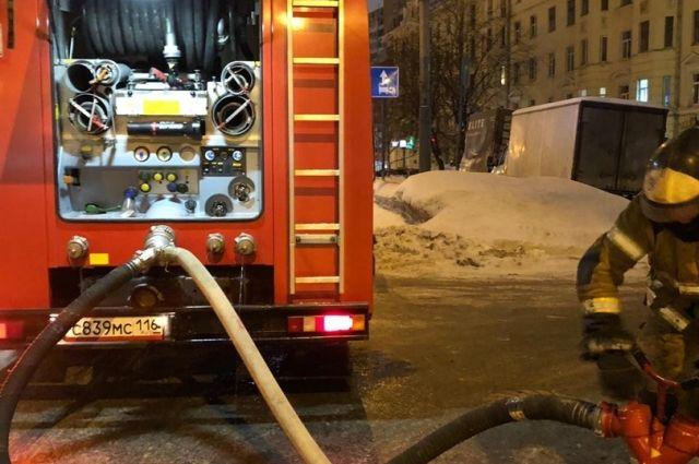 Пожар в общежитии Ленинского района: 27 человек были эвакуированы
