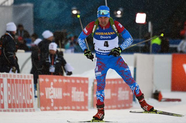 Биатлонист Евгений Гараничев.