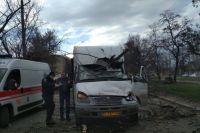 В Николаеве в очередной раз упало дерево на маршрутку: пострадали дети