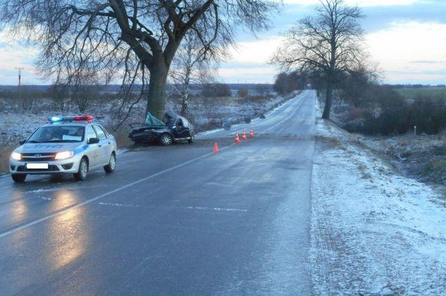 На дороге «Советск-Гусев» произошло ДТП со смертельным исходом