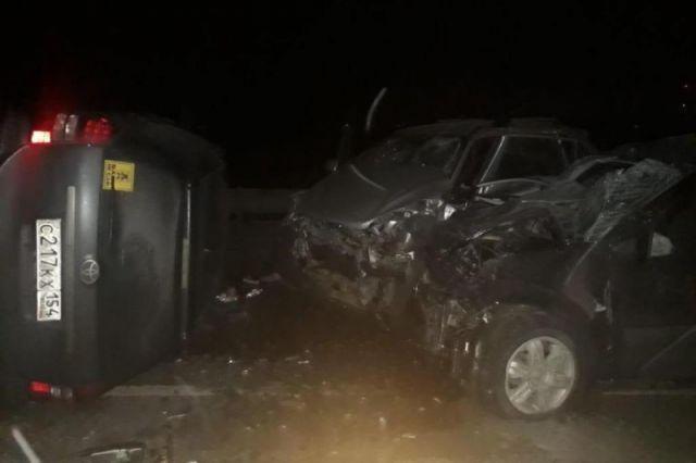 Пожилой мужчина спровоцировал ДТП на Чуйском тракте и погиб