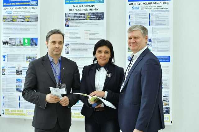 Базовая кафедра «Газпром нефти» есть в ОмГТУ.