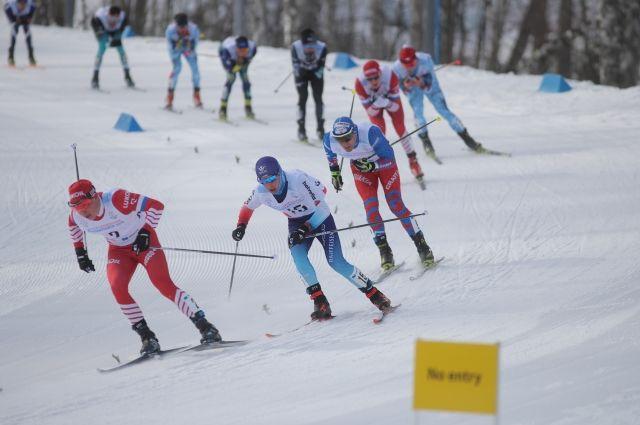 В лыжной гонке сильнее оказался Баба Наото.
