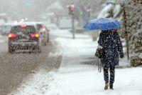 В ряде областей ожидаются значительные осадки в виде снега и дождя.