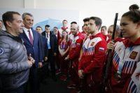 О планах проверить проект завода премьер заявил во время встречи со сборной России на Универсиаде-2019.