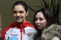 Евгения Медведева и Елизавета Туктамышева.