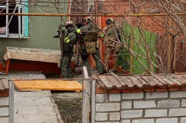 Операция по обезвреживанию боевиков на окраине Нальчика.
