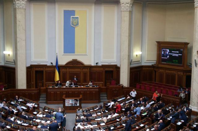 В Верховной раде депутату выключили микрофон за речь на русском языке