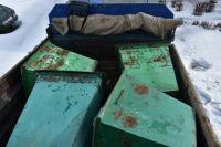 Украли баки: в Новотроицке после погони задержаны злоумышленники