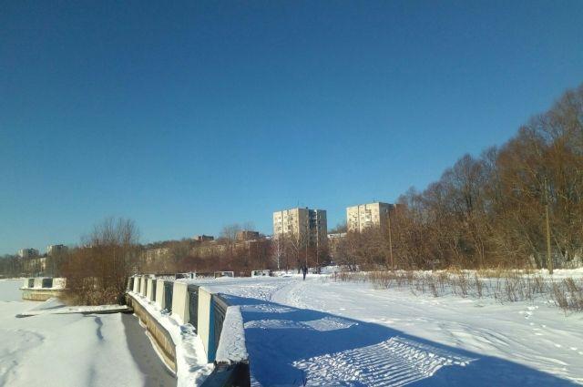 Плавучий остров в Ижевске хотят распилить и вывезти по частям.